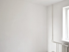 Шпаклёвка стен в 1 слой(подготовка под обои)