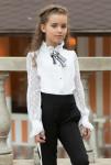 """Школьная блузка для девочек """"SH-64"""""""