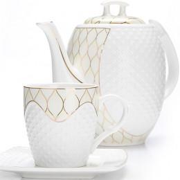 26835 Чайный/сер. 13пр (220мл+1,3л чайник) LR (х4)