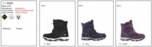 Зимние ботинки Viking Beito GTX