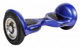 Гироскутер 10 дюймов Smart Balance Синий Карбон