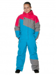 Детский горнолыжный комбинезон 2019-2020, T-8811, Св-голубой
