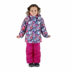 Зимний комплект «Цветущий Монреаль» W16116 BLUE 104-120