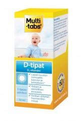 Multi-tabs D-tipat витамин D3 в каплях, 10 мл