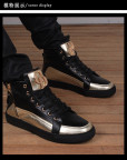 Повседневные мужские повседневные ботинки со шнуровкой, свин