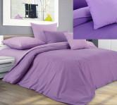 КПБ Перкаль 2 спальный с европростыней «Ежевичный смузи»