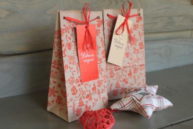 Подарочная упаковка «Пакет новогодний»