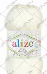 "Пряжа ALIZE ""DIVA BABY"" (100 г) 001 (молочный)"
