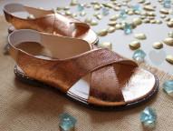 Кожаные сандалии. New Collection 18