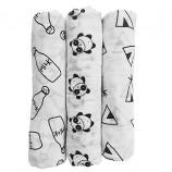 Organic Muslin Bamboo Swaddle Blankets