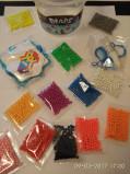 Aqua beads Аква бусины 1200 бусин