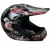Шлем VCAN V300 PUNK-G/BLACK
