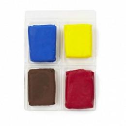 Набор полимерной глины, Основной, 4 цвета