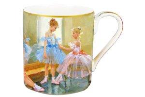 Кружка Балерины у зеркала в подарочной упаковке