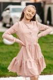 """Платье для девочки """"L-14"""" (повязка для волос в комплекте)"""