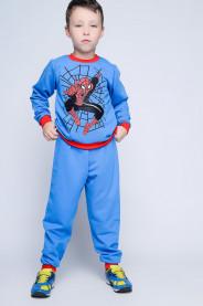 Пижама Kinder Joy 24093 (110-116, Голубой)