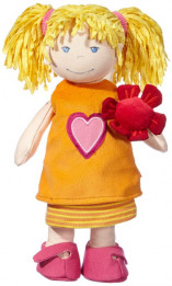 Haba Nelly Soft Doll - 12 inches tall