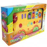 """Игрушка пластмассовая """"Автобус"""", c доской для рисования, зву"""