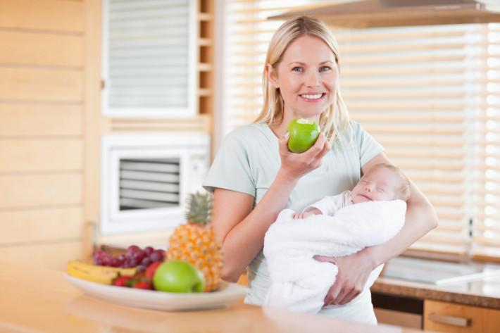 диета для кормящих мам, меню для кормящей мамы, рацион кормящей мамы