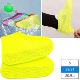 Силиконовые водонепроницаемые бахилы для обуви