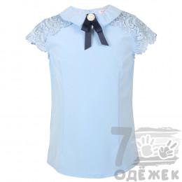 069 Блузка для девочки с коротким рукавом