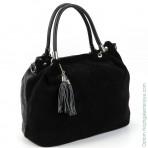 Женская кожаная сумка 1578-В Блек