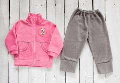 Флисовый костюм для детей: штаны и кофта