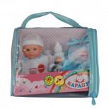 """Кукла интерактив. """"Пупс"""", 14 см, звук, аксесс, в сумке, КАРА"""