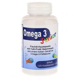 Витамины для деток Omega-3 со вкусом тутти-фрутти