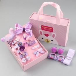 Подарочный набор заколок для девочек Happy every day