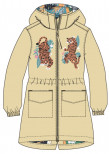 Пальто демисезонное для девочки CROCKID Крокид ВЕСНА 20