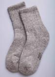 Носки из шерсти 100% серый с узором, Монголия