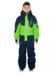 Детский горнолыжный комбинезон 2019-2020, T-8806, Зеленый