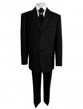 Школьный костюм тройка Harput черный