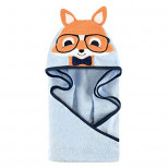Baby Animal Face Hooded Towel