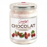 Белый шоколадный крем с малиной, 250 гр.