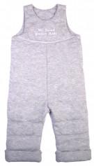 Полукомбинезон, серый меланж 105009-01-26