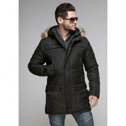 Куртка мужская зимняя 045 Nikolom черная (Белоруссия)