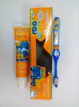 Детский гигиенический набор: зубная паста+щетка St.Andrews