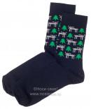 Н434/6 Мужские носки (темно-синий)