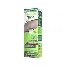ХИТ! Крем-хна для волос Herbal Time Роза Импекс 75 ml