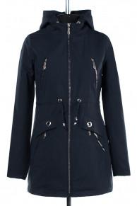 04-1926 Куртка демисезонная (синтепон 50) Плащевка Navy