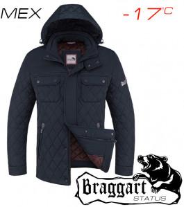 Самые теплые зимние куртки мужские 1743 т.синий (6)