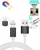 Магнитный USB TYPE-C 1.2 м 2А