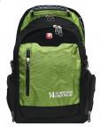 Рюкзак городской SWISS 1416 (зеленый)