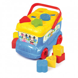 Clementoni, Disney, zabawka interaktywna, Autobus Baby Micke