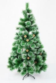 Искусственная елка с заснеженными кончиками и - высота 180 с