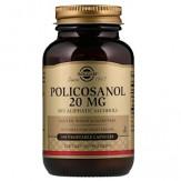 Solgar, Поликосанол, 20 мг, 100 капс