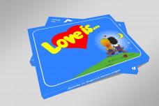 НАБОР ШОКОЛАДА - LOVE IS...