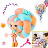 Мини-кукла с яркими волосами